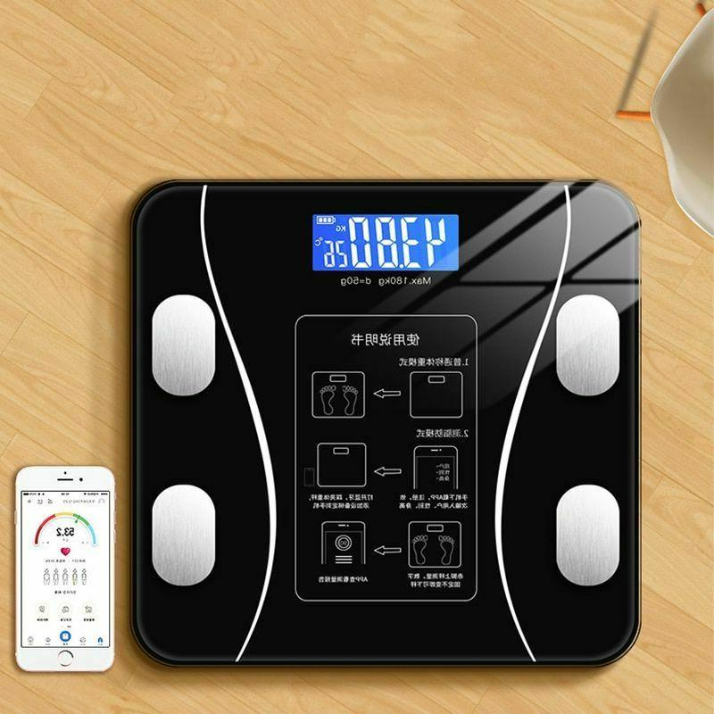 Bathroom BMI Smart Electronic Led Touch