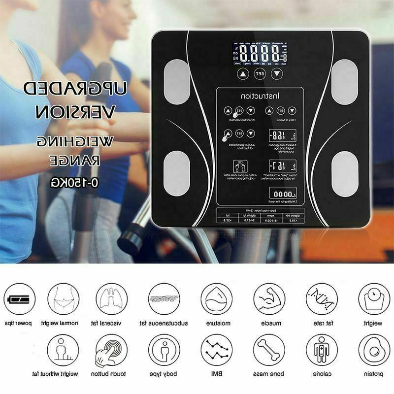 Bathroom BMI Smart Electronic Led Touch Button Muscle