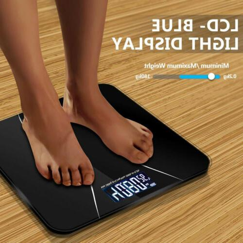Bathroom Scales Smart LCD Electronic Fitness