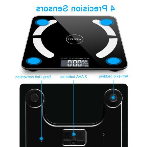 Bluetooth Scale LCD Body Muscel Scales