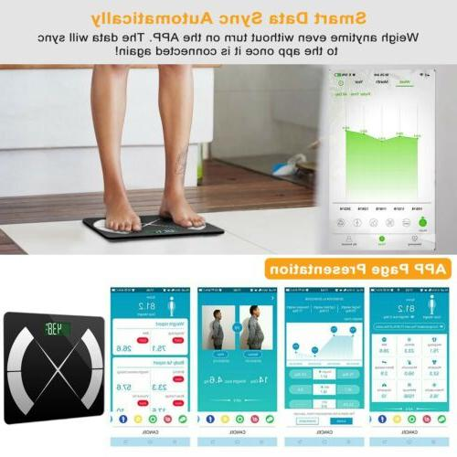 Body Fat Monitor Scale Smart Digital Weight Scale