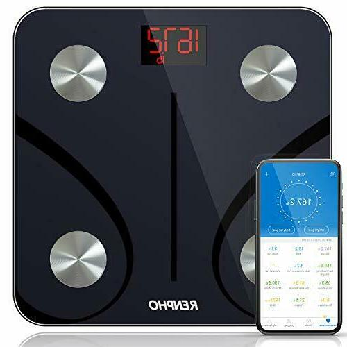 Bluetooth Body Fat Scale, Digital Weight  Smart   with Smart
