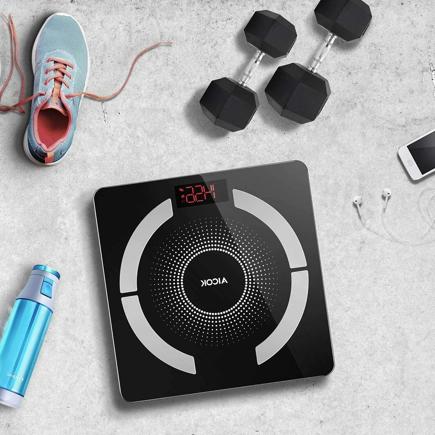 Aicok Body Scale Weight Smart App