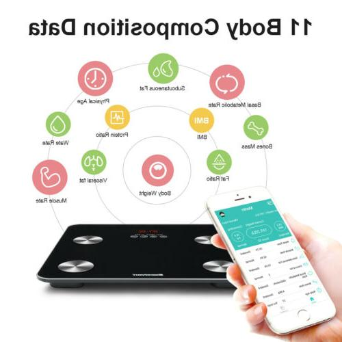 Bluetooth Body Fat Weight Scale 400 Smart