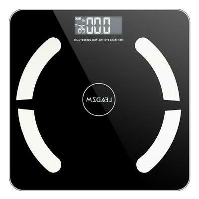 Bluetooth Body Fat Scales 180kg/400lb