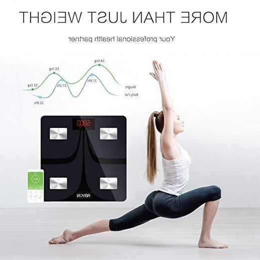 bluetooth scale digital weight and body fat