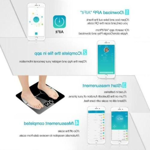 Triomph Smart Fat Scale with App