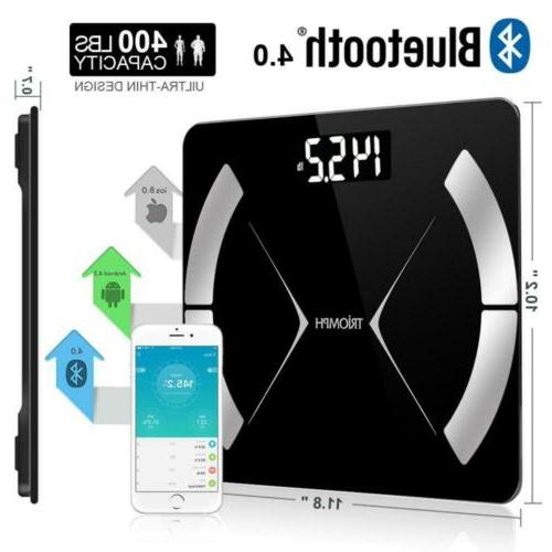 Triomph Bluetooth Smart Fat with iOS/Android App Digital...