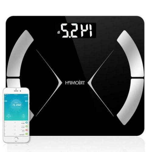 bluetooth smart body fat scale with ios