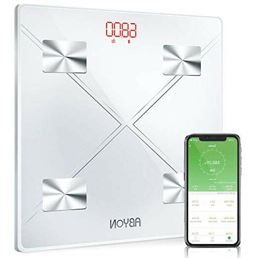 Bluetooth Smart Digital Weight and Body Scales