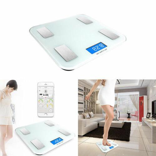 Bluetooth Smart Fat Monitor Body Scale Android