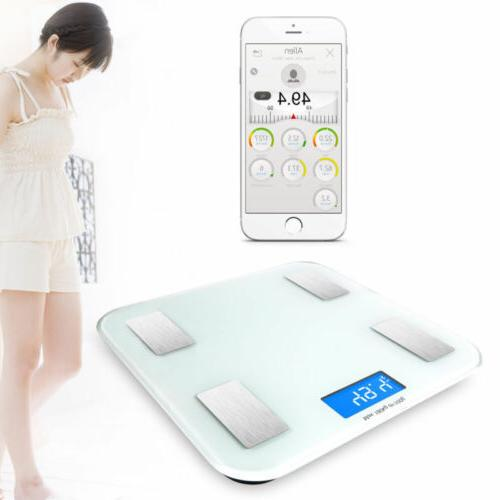 Bluetooth Electronic Body Scale Android IOS