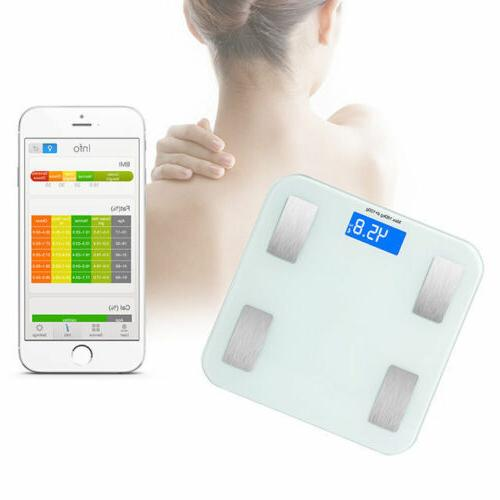Bluetooth Fat Monitor Body Scale Android