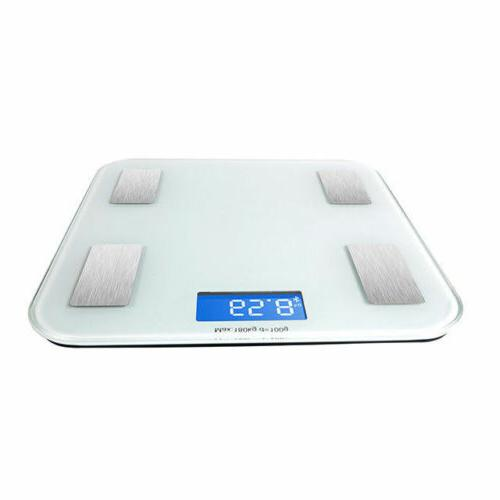 Bluetooth Smart Electronic Body Fat Body Composition Scale Android IOS
