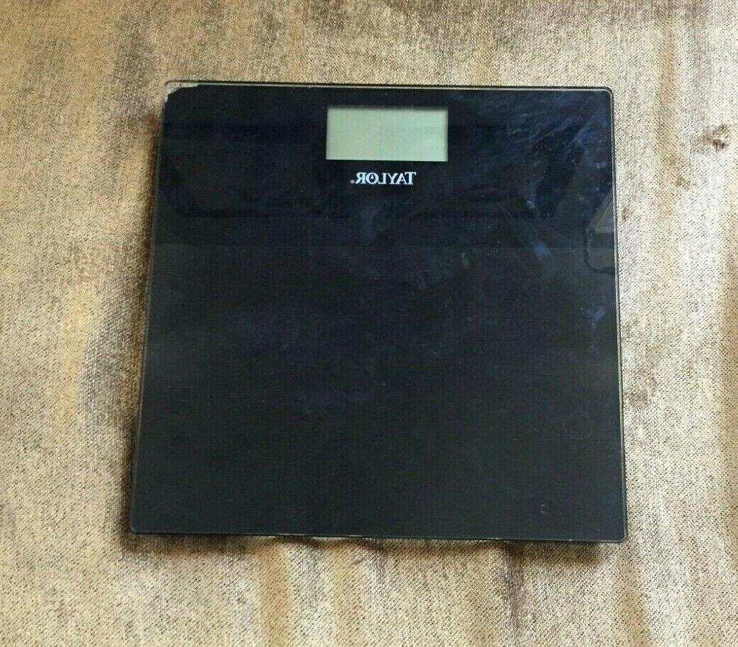 body composition scale body fat glass top