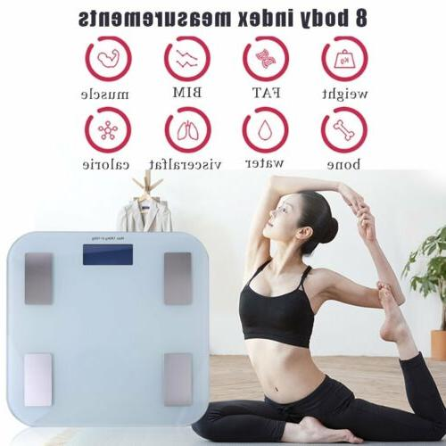 body fat monitor composition smart scale bluetooth