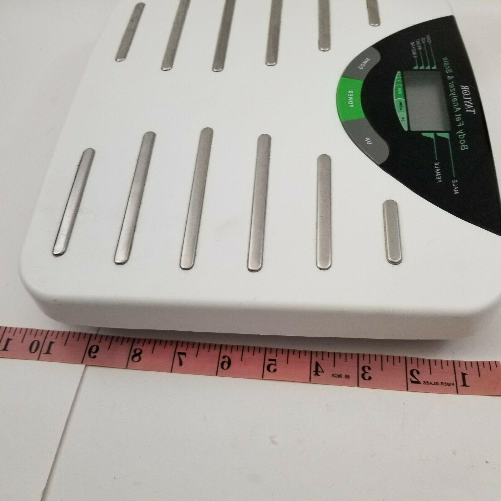 Taylor Fat Analyzer Scale White Water
