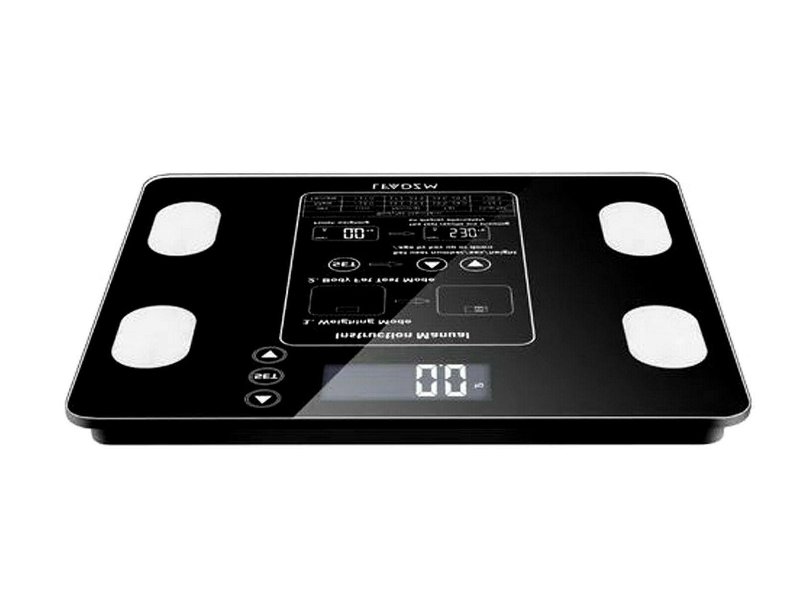 Leadzm Digital Scale Water Muscle Calorie Bone 12Users