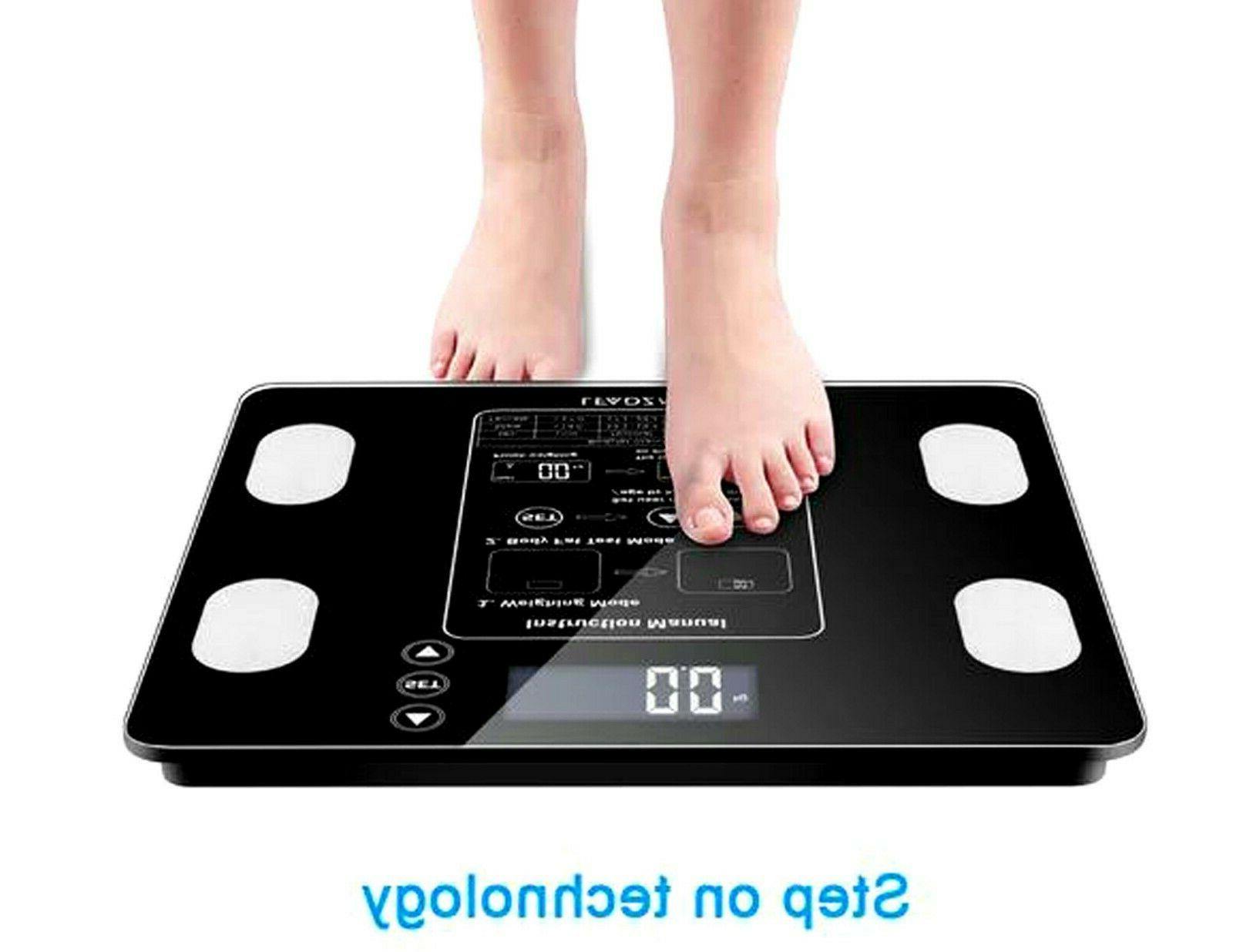 digital body fat scale bmi water muscle