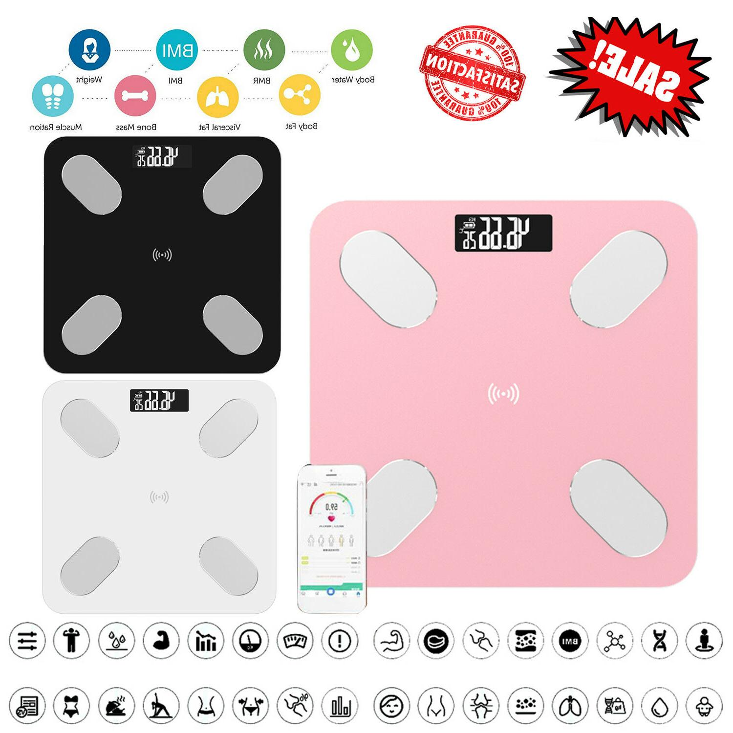 digital body fat weight scale electronic lcd