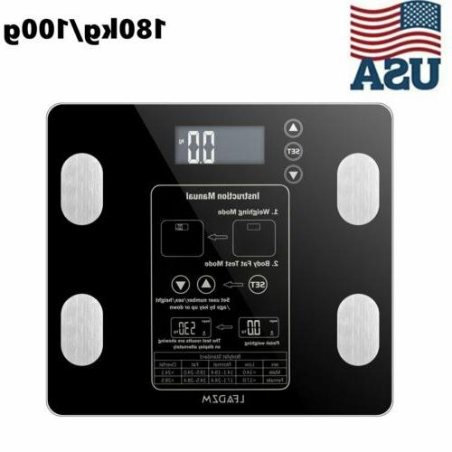 digital smart weight scales body fat scale