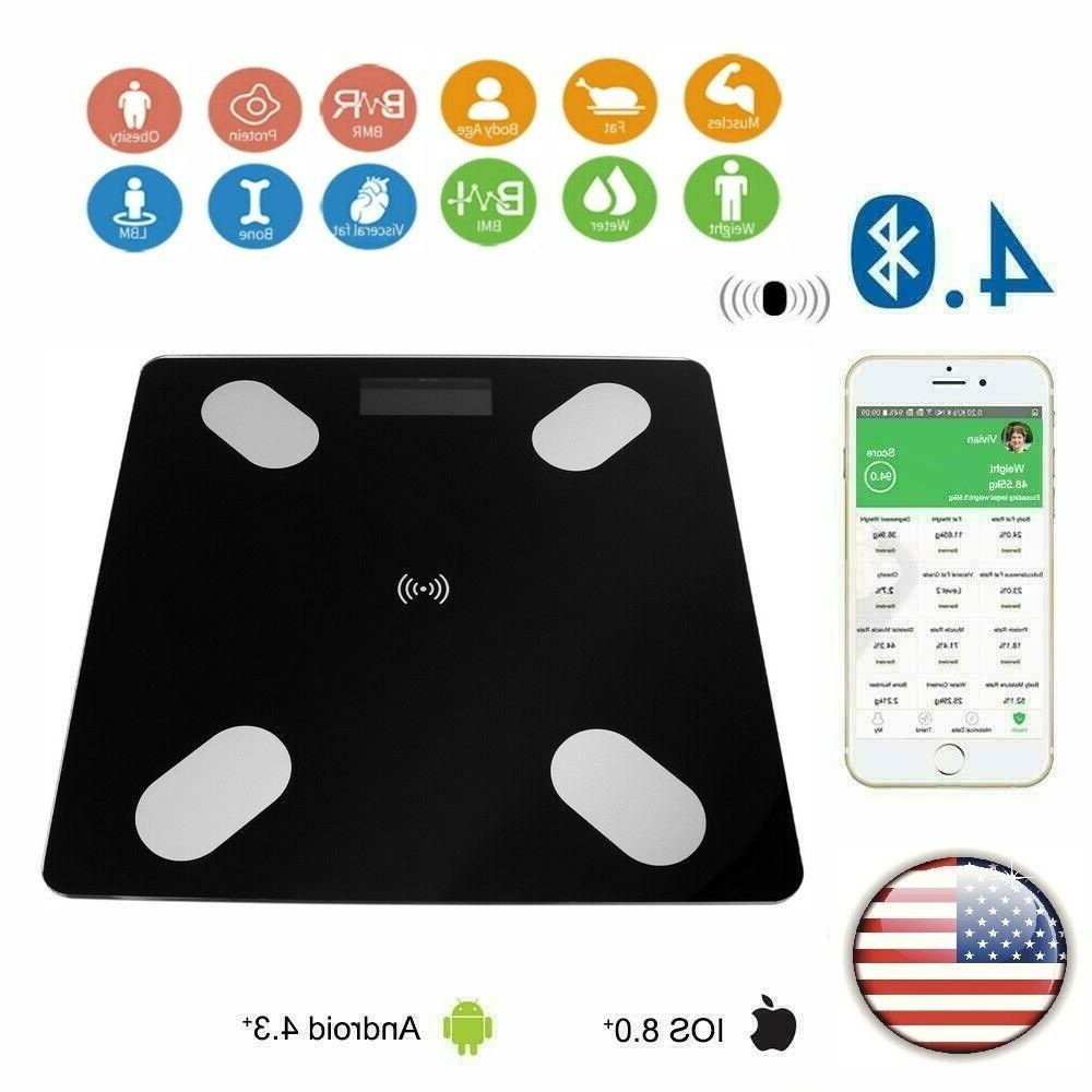 digital electronic bmi body fat bathroom scale