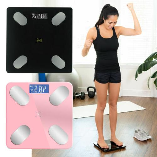 Digital Smart Fat Scale BMI Analyzer Weight Health Calories Muscle