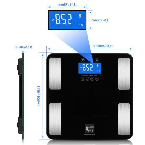 Digital Smart Weight Scale Tracker BMI