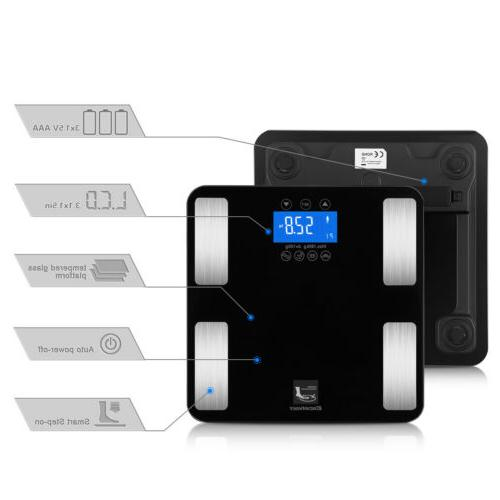 Digital Smart Weight LCD Tracker Bathroom