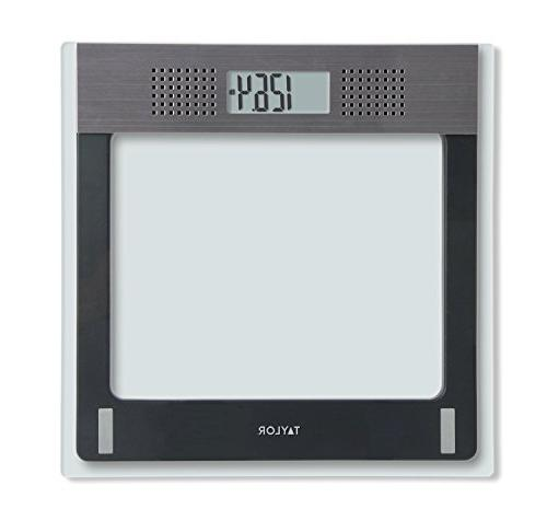 electronic glass talking scale