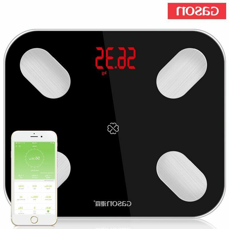 electronic smart body bathroom weight scale fat