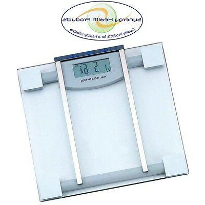 Healthsmart ELSCALE4 Glass Electronic Body Fat Scale