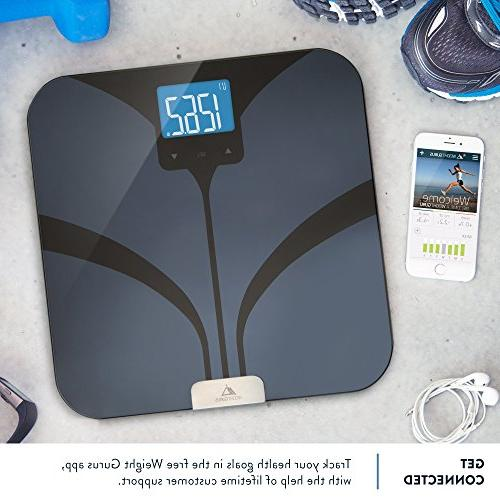 Bluetooth Scale by GreaterGoods, Secure your Bluetooth Body Fat, Mass, Water and Mass,