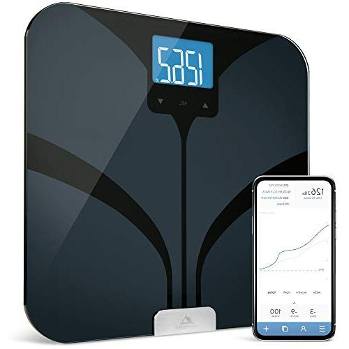 Bluetooth by GreaterGoods, your Bluetooth Scale Water Mass, Large Backlit Display