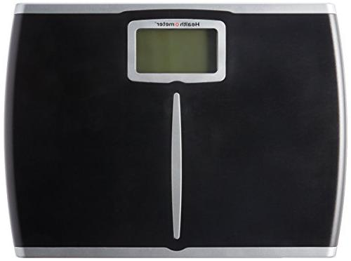 Health-o-Meter Glass Body Scale Black Frame