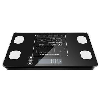 Home Digital Scale LCD Tempered Screen BMI