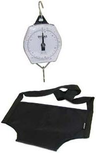 Mechanical Baby Scale with Sling, Capacity: 25kg x 100g/56lb