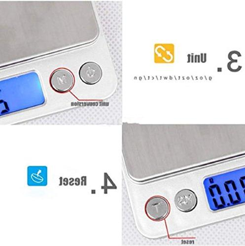 LCD Digital Pocket Scale Weight 0.01g Electronic