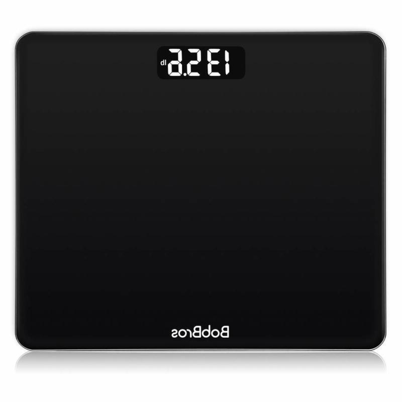 Bobbros Weight Bathroom Scale Weighing Scale Smart Step-O