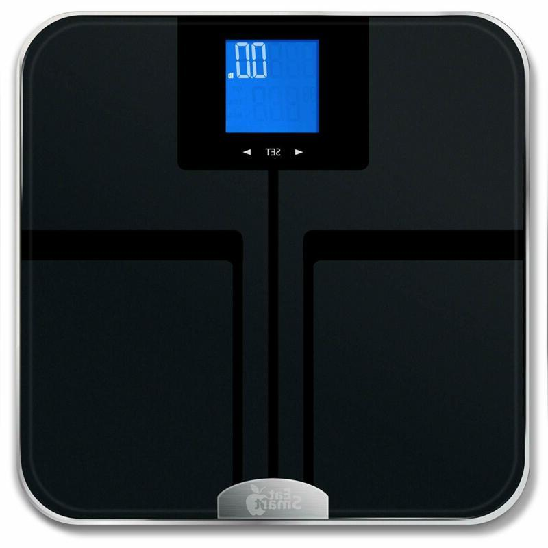 EatSmart Precision Getfit Digital Body Fat Scale with Auto R