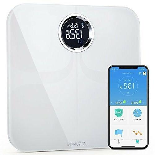 premium w8 smart scale body fat yumani