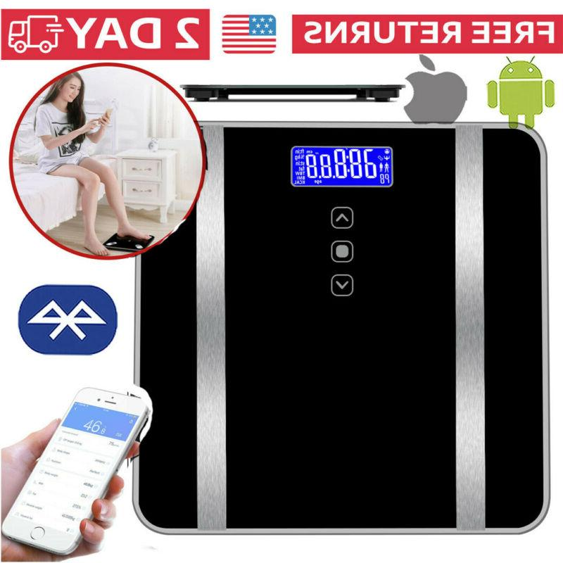 smart bathroom scales weight scale body fat