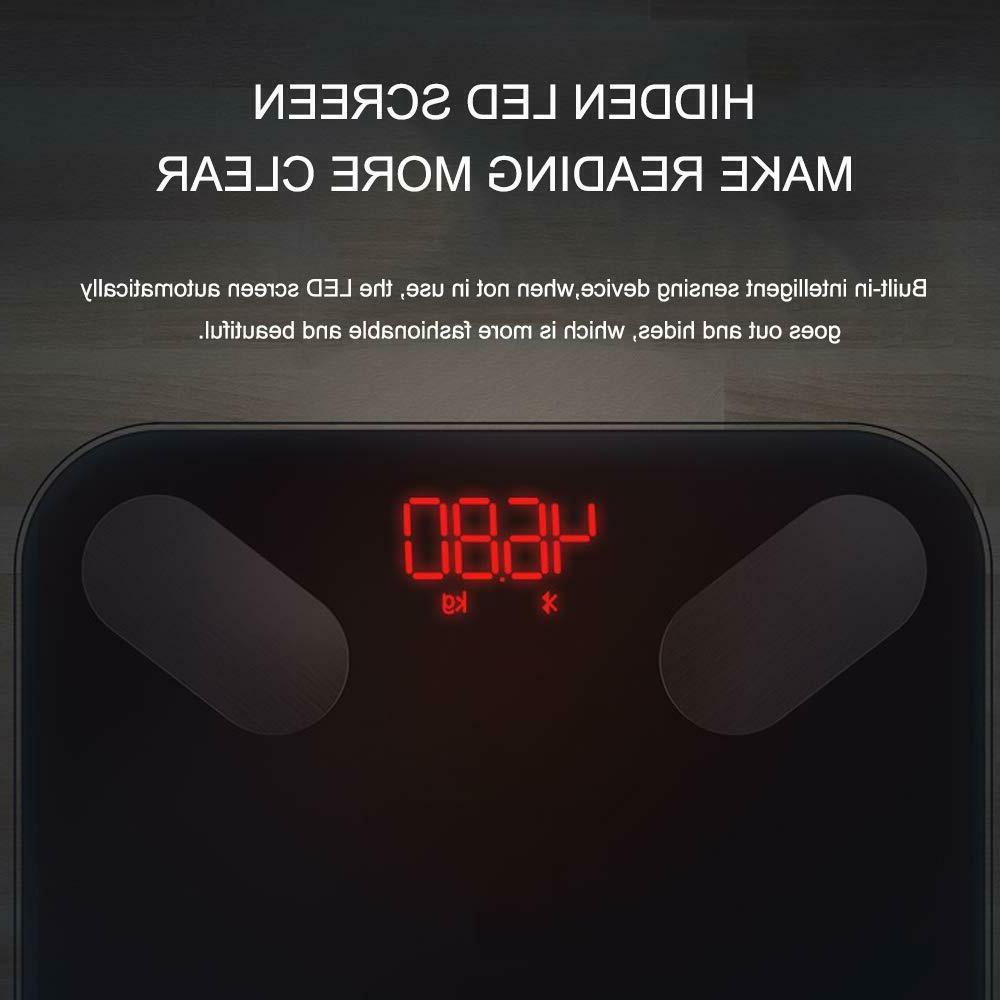 Smart Scale Body Fat BMI iOS Android App