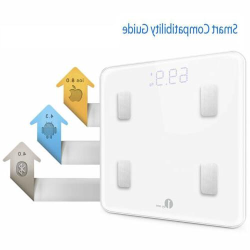 1byone Smart Body Bathroom Weight BMI Wireless