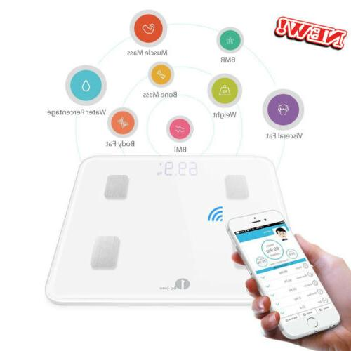 smart body bathroom weight scale fat bones