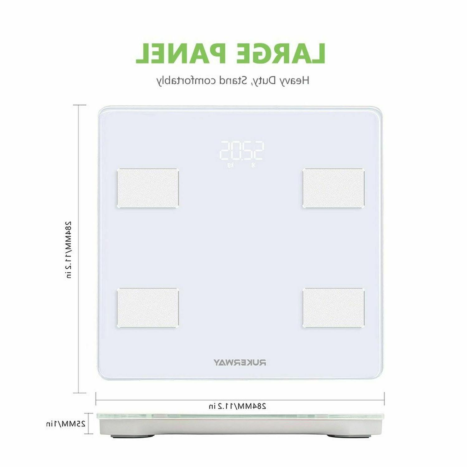 Smart Body Scale Bones Digital