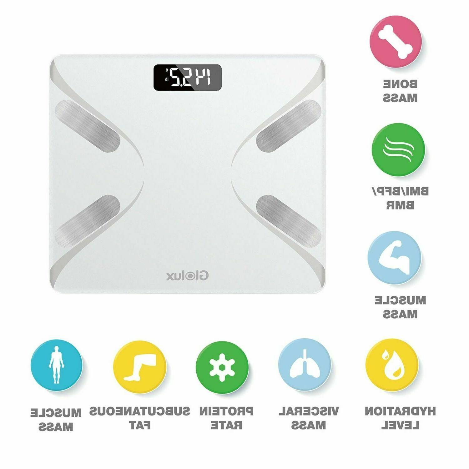 Smart Body Bathroom Scale Digital APP