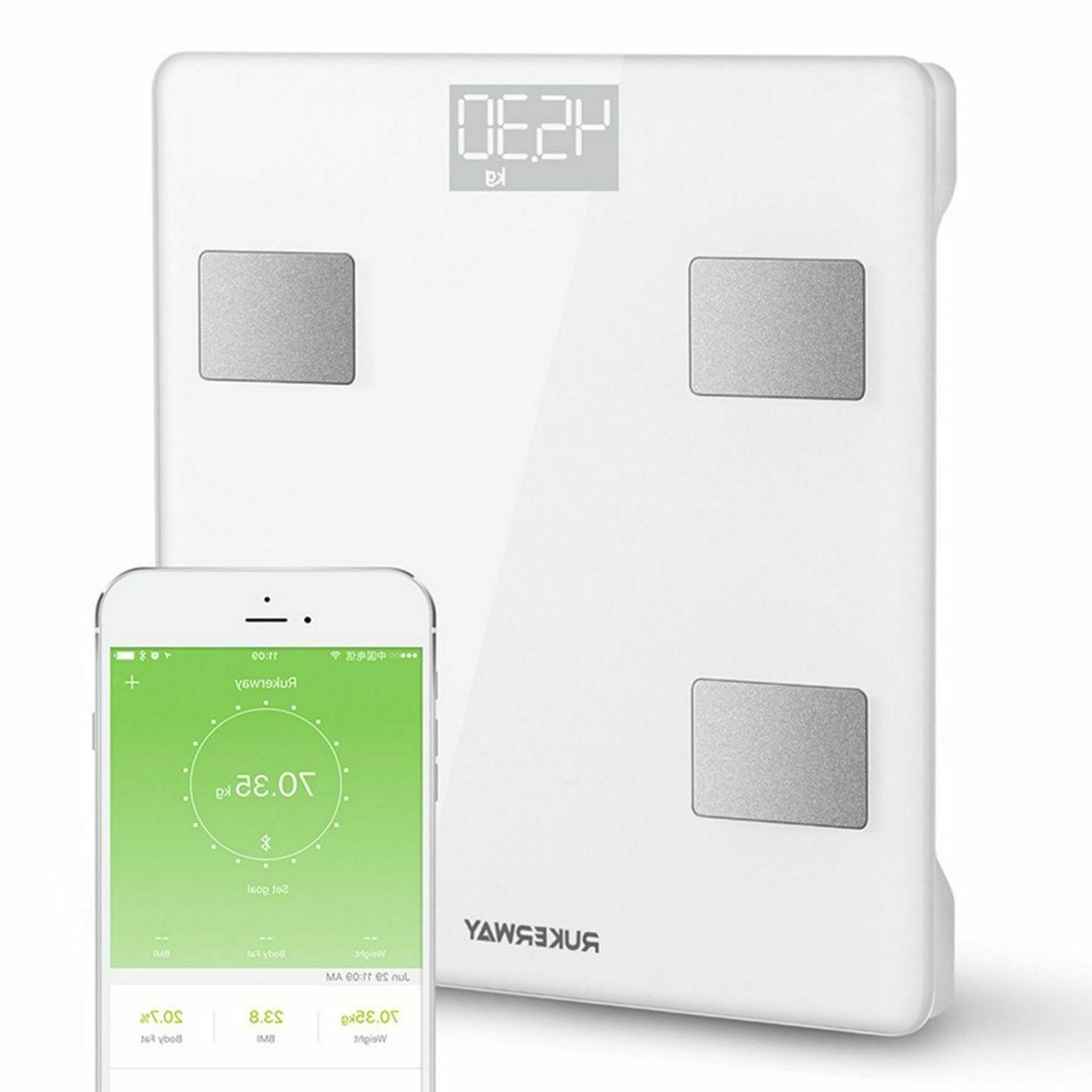 Smart Body Bathroom Weight Scale Digital Fitness