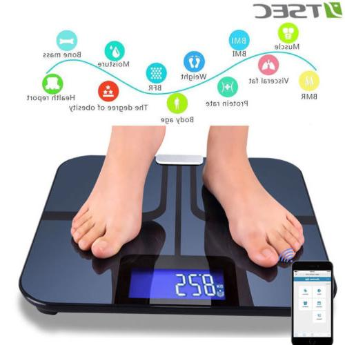 smart body fat weight scale wifi accurate