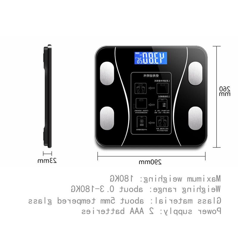 Smart <font><b>Scale</b></font> LCD Receive BMI Health Analyzer Weight Tools <font><b>Scales</b></font>